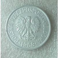 Польша 20 грошей, 1968 г.