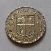 1 рупия, Маврикий 2010 г.