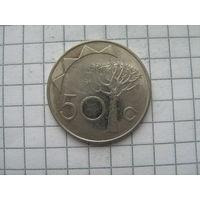Намибия 50 центов 1993г.