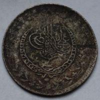 Турция, Махмуд II, 20 пара 1831 г, (серебро)