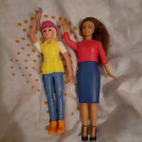 Игрушки Барби из Бургер Кинг