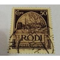 Родос, Греция, итальянская оккупация, колония, война, распродажа