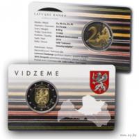 2 Евро 2016 Латвия Видземе BU