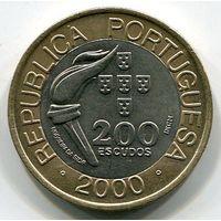 ПОРТУГАЛИЯ - 200 ЭСКУДО 2000 СИДНЕЙ
