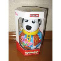 Неваляшка Собачка Бим малая (Stellar, РФ) Размер коробки 10х12,5х17,5 см. Новая Классическая русская игрушка. Собачка Бим - красочное решение для обычной неваляшки.