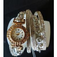 Часы женские, новые. На изящную руку. Китай
