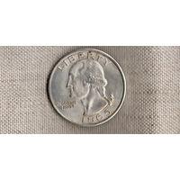 США 1 доллар  1865 /точная копия серебрение(Nv)