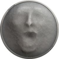 "Острова Кука 5 долларов 2019г. ""Ловушка"". Монета в капсуле; подарочном футляре; сертификат; коробка. СЕРЕБРО 31,135гр.(1 oz)."