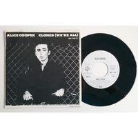 ALICE COOPER Clones (We're All)/ Model Citizen (Germany винил сингл 1980)