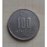 Турция 100000 лир 2002