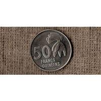 Гвинея 50 франков 1994 /флора/  (МР)