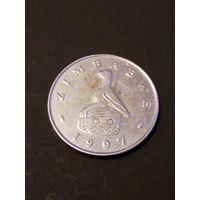 Зимбабве 50 центов 1997г.