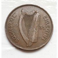 Ирландия 1 пенни, 1935 4-3-5