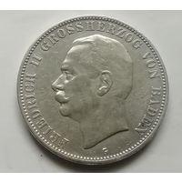 Германия 5 марок Баден
