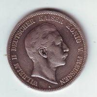 Пруссия, 5 марок 1899 г.
