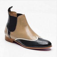 Кожаные полусапожки немецкого бренда MELVIN & HAMILTON, 100 % оригинальные