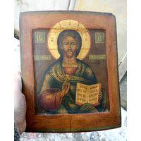 Икона Господь Вседержитель 19 век, ковчег