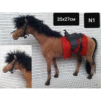 Лошадь коричневая