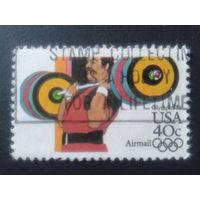 США 1983 олимпиада, штанга