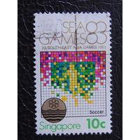 Сингапур 1983 г. Спорт.