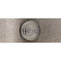 США 25 центов 2014/парки/Грейт Смоки Маунтинс Теннесси(Ab)