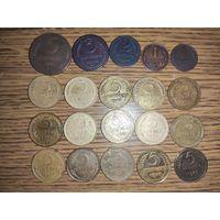 Копейки дореформенные 113 монет.