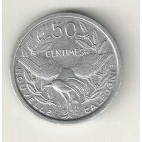 Новая Каледония 50 сантим 1949
