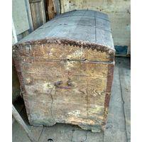 Сундук старинный большой. 19 век