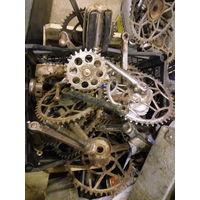 Звездочка каретки велосипед СССР ретро реставрация