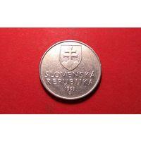 2 кроны 1993. Словакия.
