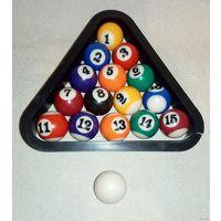 Комплект шаров для детского настольного бильярда