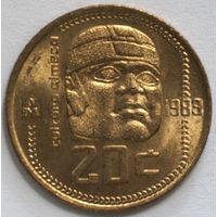 Мексика 20 сентавос 1983 года. Культура Ольмеки