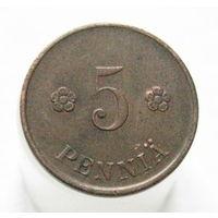 Финляндия 5 пенни 1918 (2-139)