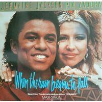 J. Jackson/Pia Zadora 1984, Arista, Germany, Maxi Single, LP, NM