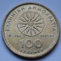 Греция, 100 драхм 1994 г