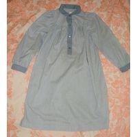 Платье свободное, можно для беременной, или в качестве ночнушки р.44-46.