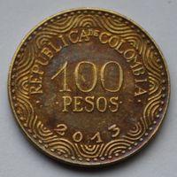 Колумбия, 100 песо 2013 г