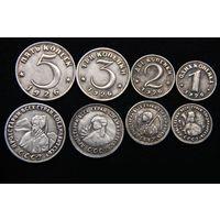 Набор 4 монеты 1,2,3,5 копеек 1926г посеребрение пробные #1