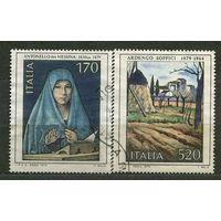 Искусство. Живопись. Италия. 1979. Полная серия 2 марки