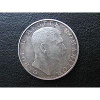 Румыния 250 лей 1939 Серебро