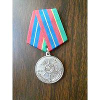 Медаль юбилейная. 59 ракетная дивизия 50 лет. ЗАТО п. Локомотивный. РВСН МО РФ. Нейзильбер.