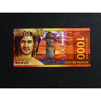 1000 Ронго Остров Пасхи
