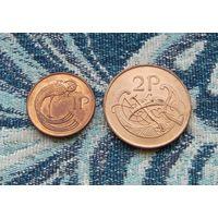 Ирландия 1, 2 пенни.