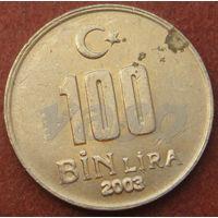 6018:  100000 лир 2003 Турция