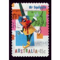 1 марка 1999 год Австралия Игрушки 1816