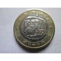 1 евро, Греция 2002 г.