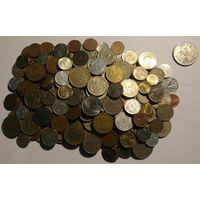 Сборный лот - монеты. Более 1 кг монет !!! Отличная подборка !!! С р. без М.Ц.