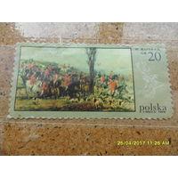 Марка Польши - художник Коссак, 20 гр, из коллекции