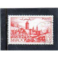 Морокко.Ми-263.Город-крепость. Серия: городские пейзажи. 1949.