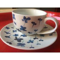 Кофейная чашка c блюдцем